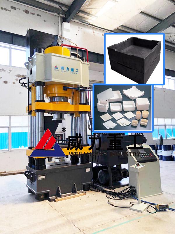 800吨四柱压力机—锂电匣钵成型设备